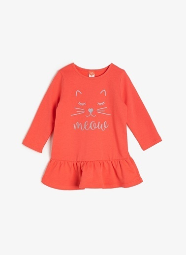 Koton Kids Elbise Mercan